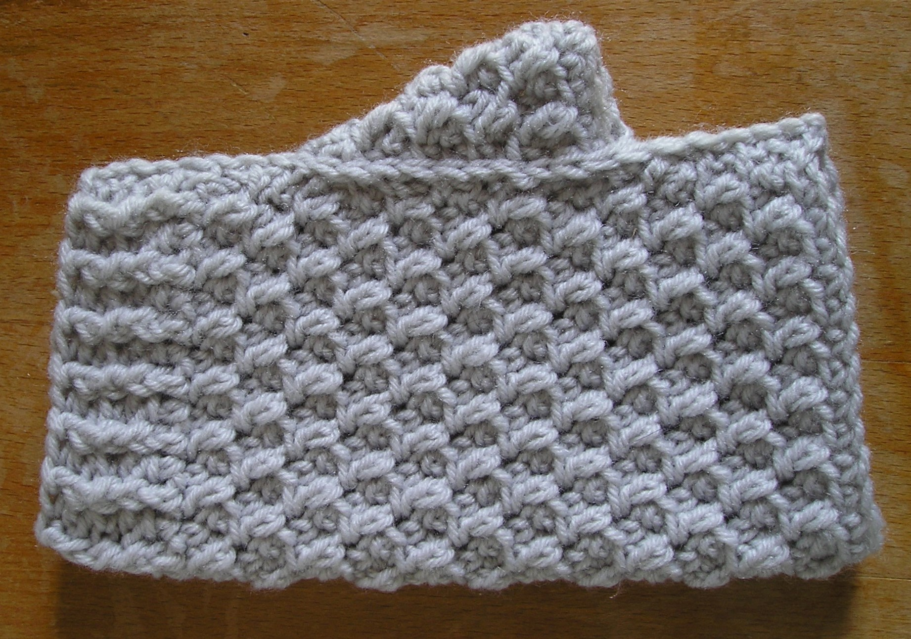 Moss stitch | Simply hooked