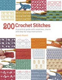 Crochet Stitches Written Instructions : ... stitches. The final cloth measures 24 x 24cm, and took about 35g of